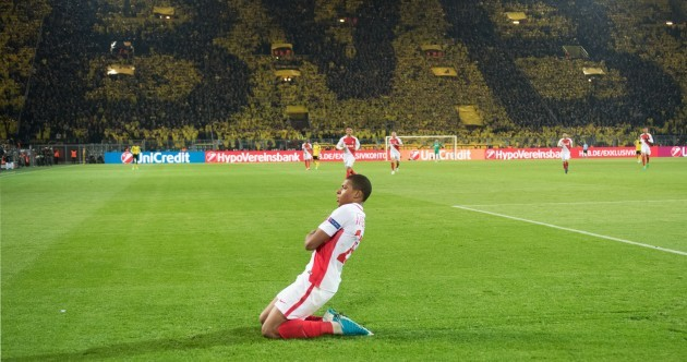 Teen superstar Mbappé gives Monaco the edge on emotional night in Dortmund