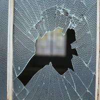 Brick thrown through window lands in baby's cot