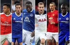 Here are the 6 players in the running for the PFA Player of the Year award