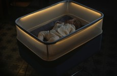 Ford has made a cot that gets your baby to sleep by imitating car journeys