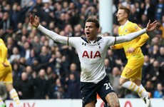 Pochettino disappointed with Dele Alli Player of the Year omission