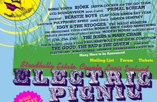 This is what festival lineups in Ireland looked like 10 years ago