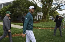Dustin Johnson commits to Wells Fargo after missing Masters with back injury