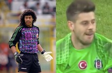 Remember Rene Higuita at Italia '90? Well, there was a similar goalkeeping howler tonight