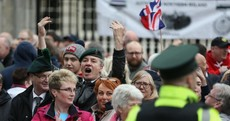 Former British soldiers rally against prosecution of retired officers for Troubles-related killings