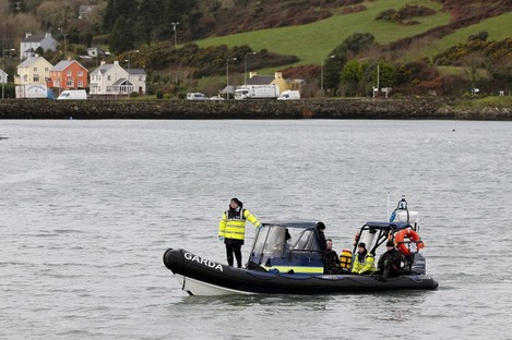 A Garda sub-squa unit involved in the search earlier this week