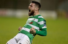 Hoops celebrate Milltown memory with win over 10-man Sligo Rovers