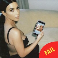 Kim Kardashian is back shilling morning sickness drugs on Instagram, and no one is impressed