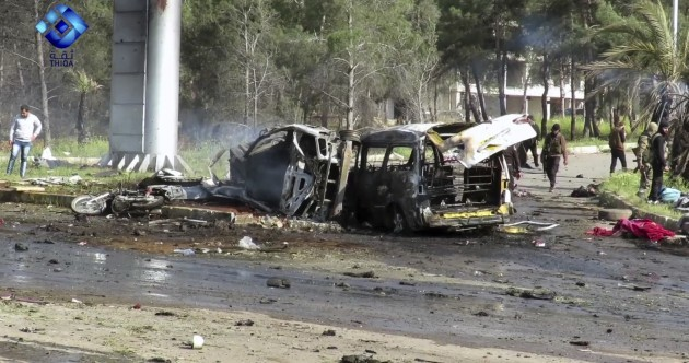 Death toll in Syrian car bomb attack rises to 43