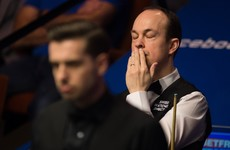 He dug deep to qualify but Fergal O'Brien didn't last long at the World Snooker Championship