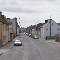 Two gardaí were attacked on the streets of a Mayo town last night