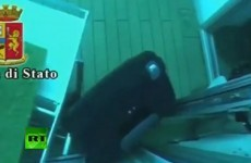 WATCH: Eerie video of divers exploring capsized Costa Concordia