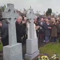 Martin McGuinness' gravestone unveiled in Derry