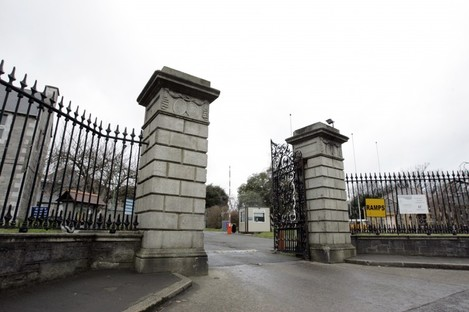 The gates of St Brendan's Hospital in Grangegorman, Dublin