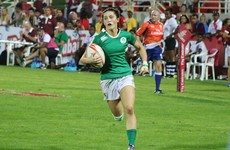 Murphy Crowe making her mark on the world stage with Ireland 7s