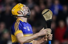 Seamus Callanan ruled out Sunday's hurling league final with broken thumb
