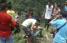 At least 26 killed as Philippines passenger bus goes off mountain road