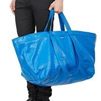 Fashion label Balenciaga is selling a big blue IKEA bag lookalike for €2000