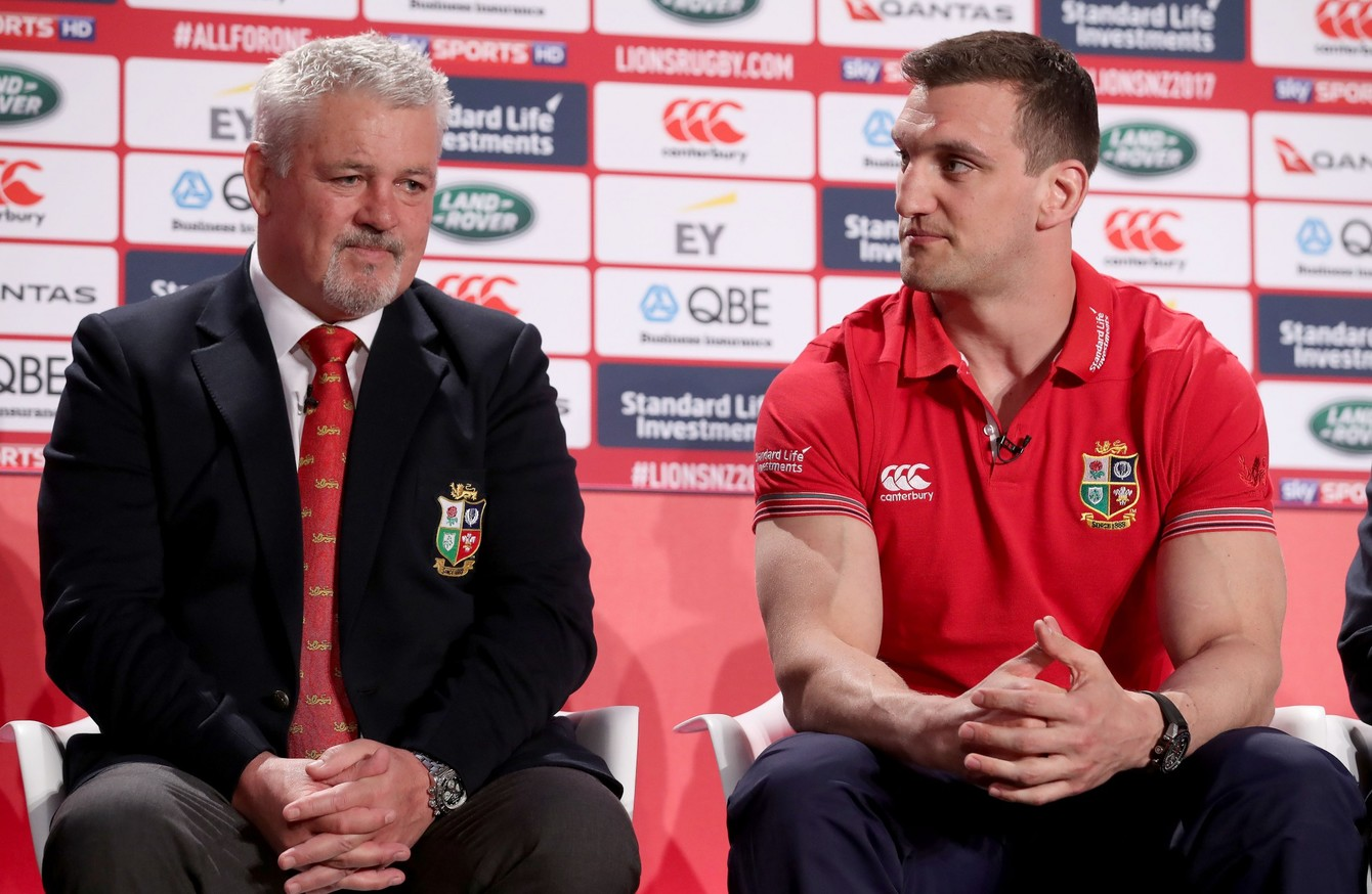 7e74d11e 11 Ireland players included in British and Irish Lions squad for New ...