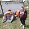 'My life is being ruined': Young homeless woman living in a tent on the Grand Canal