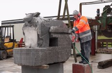 Roscommon locals crowdfund to get life-size sheep sculpture ready in time for festival