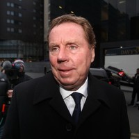 Tottenham Hotspur boss Harry Redknapp arrives at court to face tax evasion charges