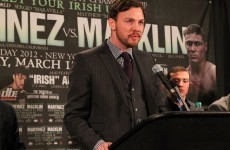 Sturm brewing as Andy Lee drops off Macklin-Martinez undercard