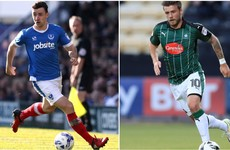 Two Irish players selected in League Two Team of the Year