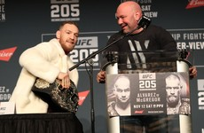UFC boss estimates McGregor will make $75 million from Mayweather fight
