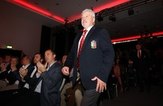 Lucrative Lions: Gatland's squad earning €1.8m more per season than All Blacks