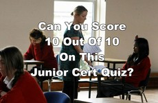 Can you score 10 out of 10 on these Junior Cert questions?