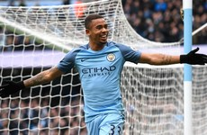 Man City's Jesus in line for early return in FA Cup semi-final