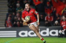 Update: Zebo gets the nod for Wolfhounds with Fitzgerald still struggling