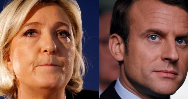 """It is time to liberate the French people"" - Le Pen is through to the final round in the presidential election"
