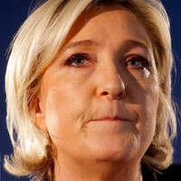 """""""It is time to liberate the French people"""" - Le Pen is through to the final round in the presidential election"""