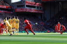 As It Happened: Liverpool v Crystal Palace, Premier League