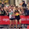 London Marathon runner stops to help exhausted fellow athlete make it to the finish