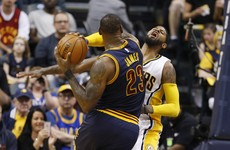 Lebron the star as the Cavs make it to the second round of the NBA playoffs