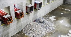 The controversial Poolbeg incinerator has taken its first delivery of waste