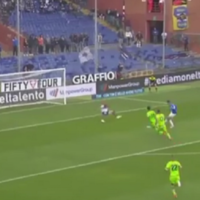 Sampdoria striker embarrasses defender with Bergkamp-esque goal