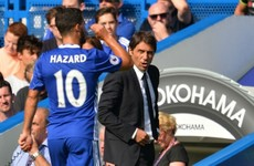 Chelsea boss Conte disagrees with Fabregas over Hazard advice