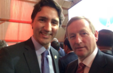Enda Kenny is travelling to Canada to meet Justin Trudeau and discuss 'middle-class jobs'