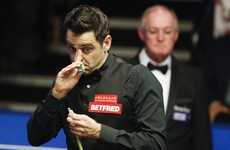 Ronnie O'Sullivan's Crucible challenge is hanging by a thread against Ding