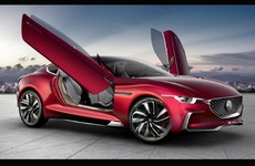 MG has unveiled a very slinky all-electric concept car