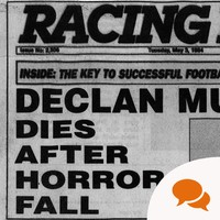 'Declan Murphy dies in horror fall': The jockey writes about that fall, reading his own obituary and his long recovery