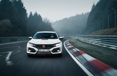 The Honda Civic Type R has set a blistering new Nurburgring lap record