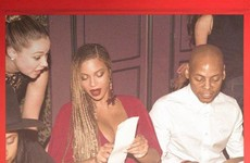 This photo of Beyoncé ordering food in a restaurant has become a massive meme