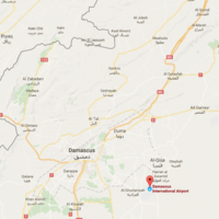 'Massive explosion' at Damascus airport