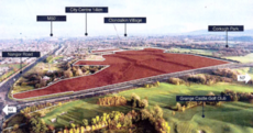 These four plots of land will be used to build thousands of social and affordable homes