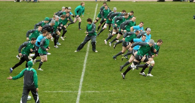 In pictures: Ireland's Six Nations training begins in Limerick